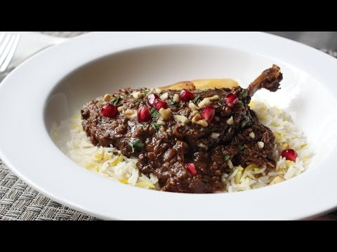 Duck Fesenjan Recipe – Duck Stewed with Pomegranate and Walnuts