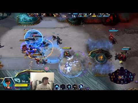 Grandmaster Tracer (w/ Tassadar) vs Valeera/Uther Steam VOD (NA Storm League)