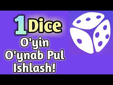 1DICE / O'YIN O'YNAB PUL ISHLASH 💰