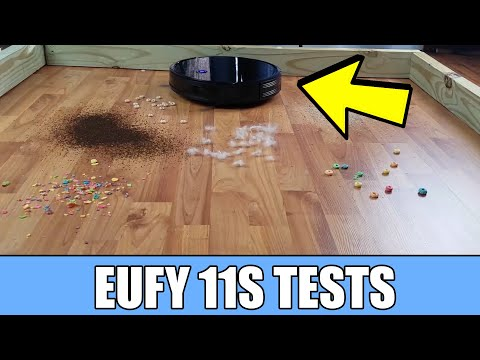 Eufy Boost IQ Robovac 11s REVIEW & TESTS - Robot Vacuum