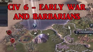 Download Video CIV 6 Strategy: early war and barbarians MP3 3GP MP4