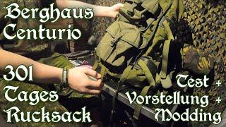 Neuer Rucksack Berghaus Centurio MMPS 30 III FA (+Molle Taschen und Modding) - Vorstellung und Test