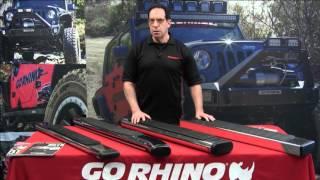 Go Rhino: OE Xtreme Side Steps for 2019 Ram 1500 Crew Cab