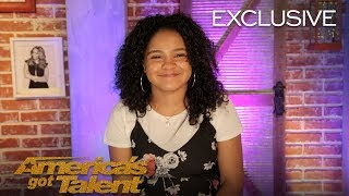 Amanda Mena Chats About Earning Golden Buzzer From Mel B - America