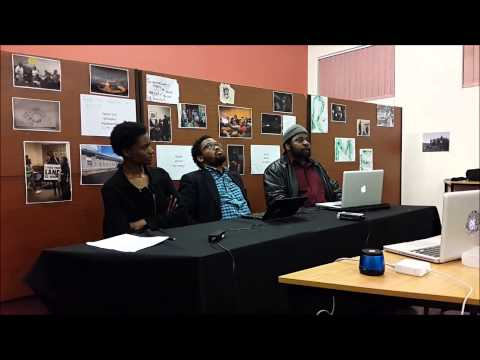 An evening with RMF, Dr Omar Ricks and Andile Mngxitama
