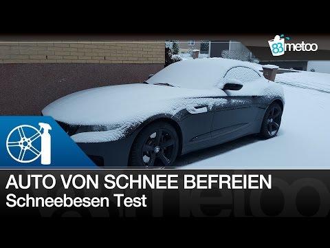 Das Fahrzeug ohne Kratzer von Schnee und Eis befreien | So befreist du dein Auto von Eis & Schnee