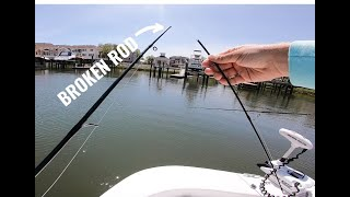 Snapped Rod Slays Speckled Trout with Mirrolure (Inshore Fishing)