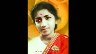 LATA JI:Film-JALTI NISHANI-1957:-Aaj Bhari   - YouTube