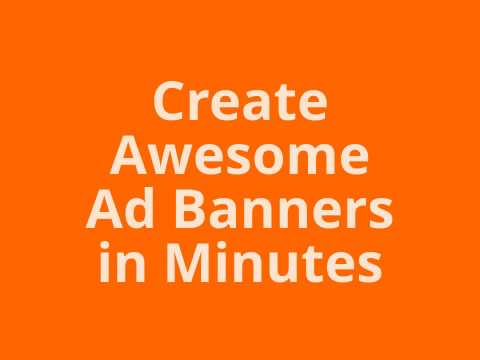 BannerCrusher Create 42 High-Converting Banners In Just 9 minutes