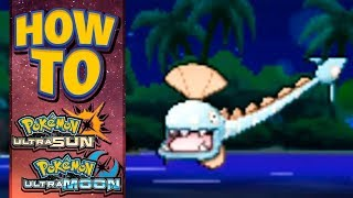 Clamperl  - (Pokémon) - HOW TO GET Huntail in Pokemon Ultra Sun and Moon