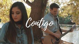 Contigo   Río Roma (Fede Bracamontes & María Alexia) Cover