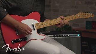 Fender Vintera '50s Telecaster - FR Video