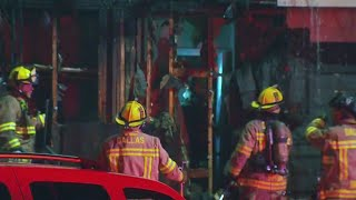Dallas Apartment Fire Sends Families Out Into The Cold
