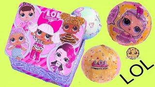 LOL Surprise Box ! Blind Bag Balls with Color Change Doll - Cookie Swirl C