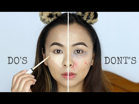 Concealer Mistakes to Avoid | Do's and Dont's