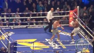 WLADIMIR KLITSCHKO KNOCKS DOWN ANTHONY JOSHUA IN THE 6TH ROUND