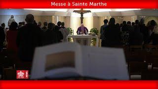 Pape François-Messe à Sainte Marthe 2020.03.25