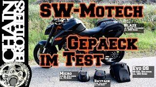 SW-Motech Quick-Lock Tankrucksäcke & Satteltasche Blaze im Test