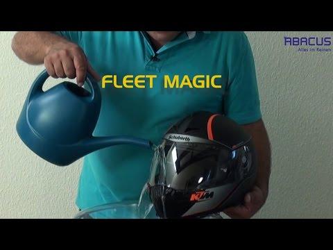 Motorradhelm regenabweisend und antibeschlag behandeln - ABACUS FLEET MAGIC und PLANTACUS