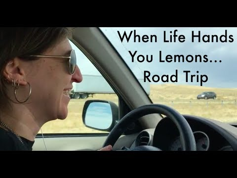 When Life Hands You Lemons...Road Trip