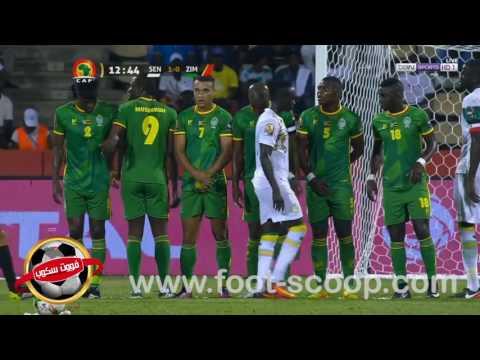 كأس أمم إفريقيا 2017: هدفا السنغال في مرمى زيمبابوي ( 2-0)