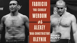 EA Sports UFC 3 Фабрисиу Вердум - Алексей Олейник