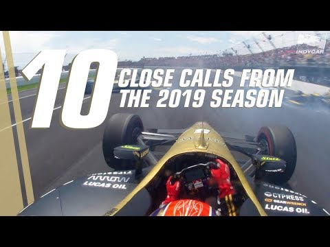 Top 10 wild saves and close calls in INDYCAR in 2019