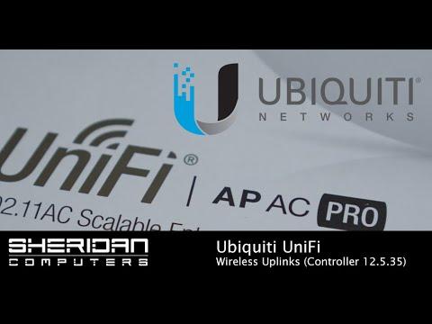 How to setup UniFi wireless-uplinks