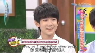 [ENG SUB] 20150727 Kangxi Talk Show TFBOYS cut 2/3 康熙来了[Clover Production]