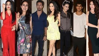Bollywood Celebs Attend Sridevi