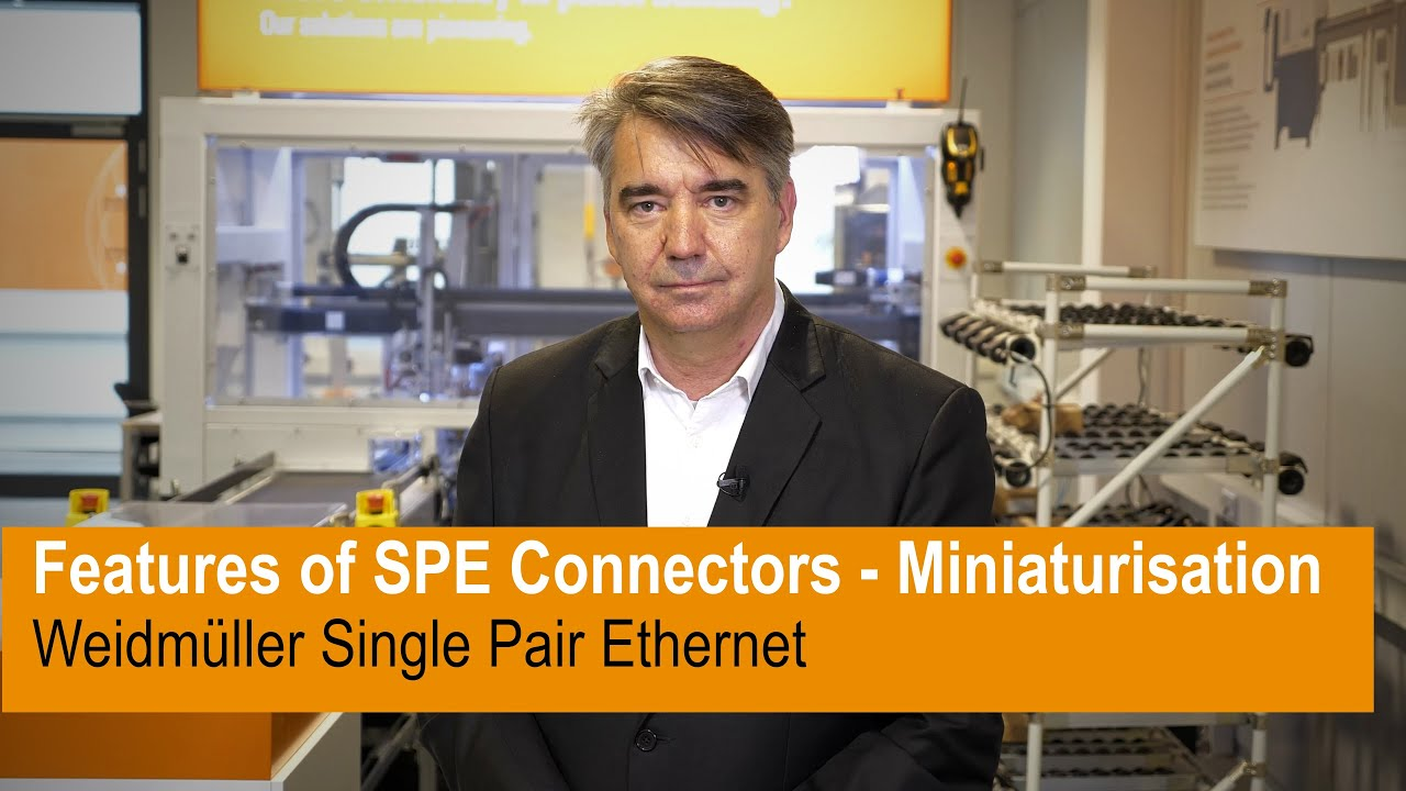 Features of SPE Connectors - Miniaturisation