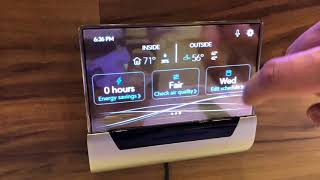 A quick hands on with the GLAS thermostat