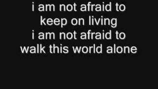 My Chemical Romance, Famous Last Words - lyrics in video! (MCR)