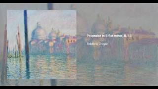 Polonaise in B-flat minor, B. 13