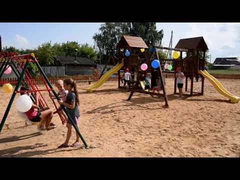 Благодаря единству кричевлян в городе открыта детская игровая площадка
