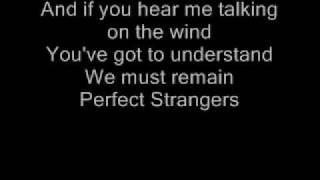 Deep Purple Perfect Strangers Lyrics