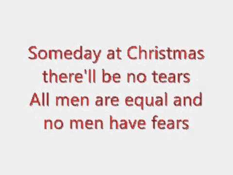 Justin Bieber - Someday at Christmas karaoke (lyrics on screen)