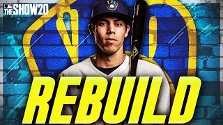 REBUILDING THE MILWAUKEE BREWERS   MLB The Show 20 Franchise