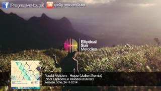 Roald Velden - Hope (Jallen Remix)