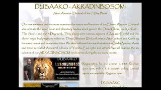 **LATE REGISTRATION OPEN FOR OUR 6 WEEK DUBAAKO ONLINE COURSE** Register Now