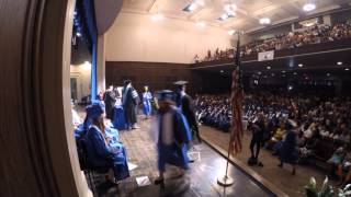 Shortridge Magnet High School For The Arts And Humanities - 2015 Commencement Timelapse