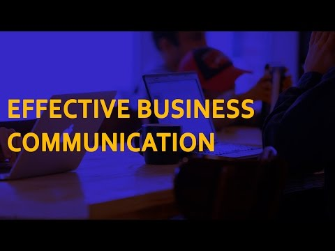 Business Communication Course | Build Communication Skills ...