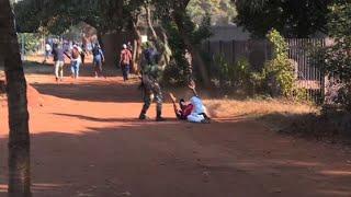 Protests in Zimbabwe turn violent