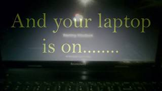 Lenovo Laptop: Fix the Power Button Problem in 1 Minute