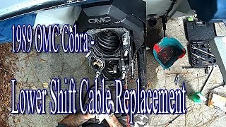 Mercruiser Alpha One Bellows, Gimble, Shift Cable Repair