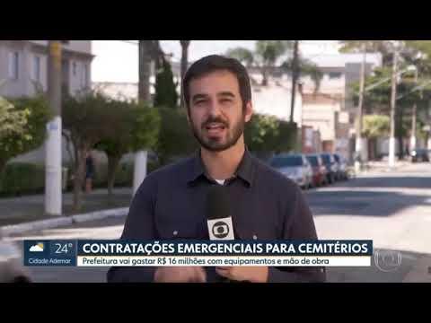SP1 (21/04)  Prefeitura faz contratações emergenciais para cemitérios
