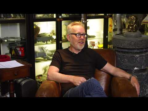 Adam Savage answers a viewer question in an intriguing and beautiful way