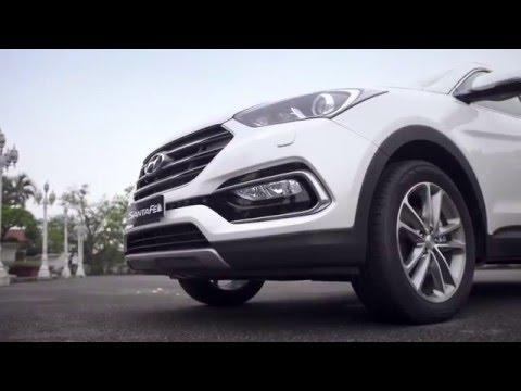 Hyundai SantaFe - Kiêu Hãnh Dẫn Đầu