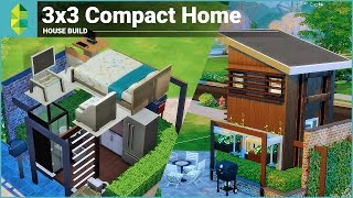 The Sims 4 House Building - 3x3 Compact Home
