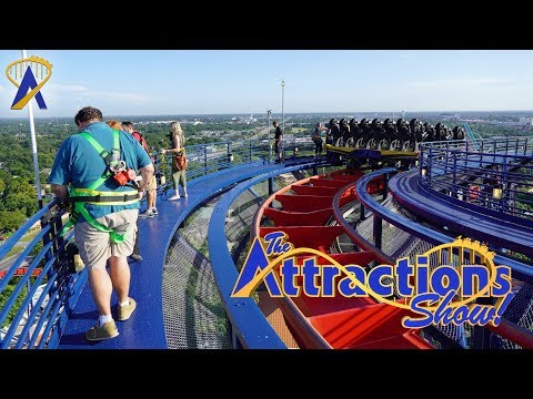 The Attractions Show! - Roller Coaster Tour at Busch Gardens; Food & Wine Preview; latest news
